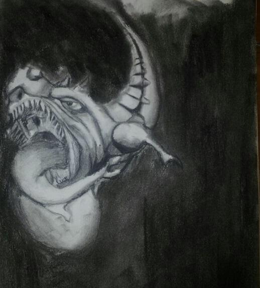 Dragon drawing #1