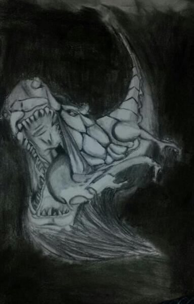Dragon drawing #2