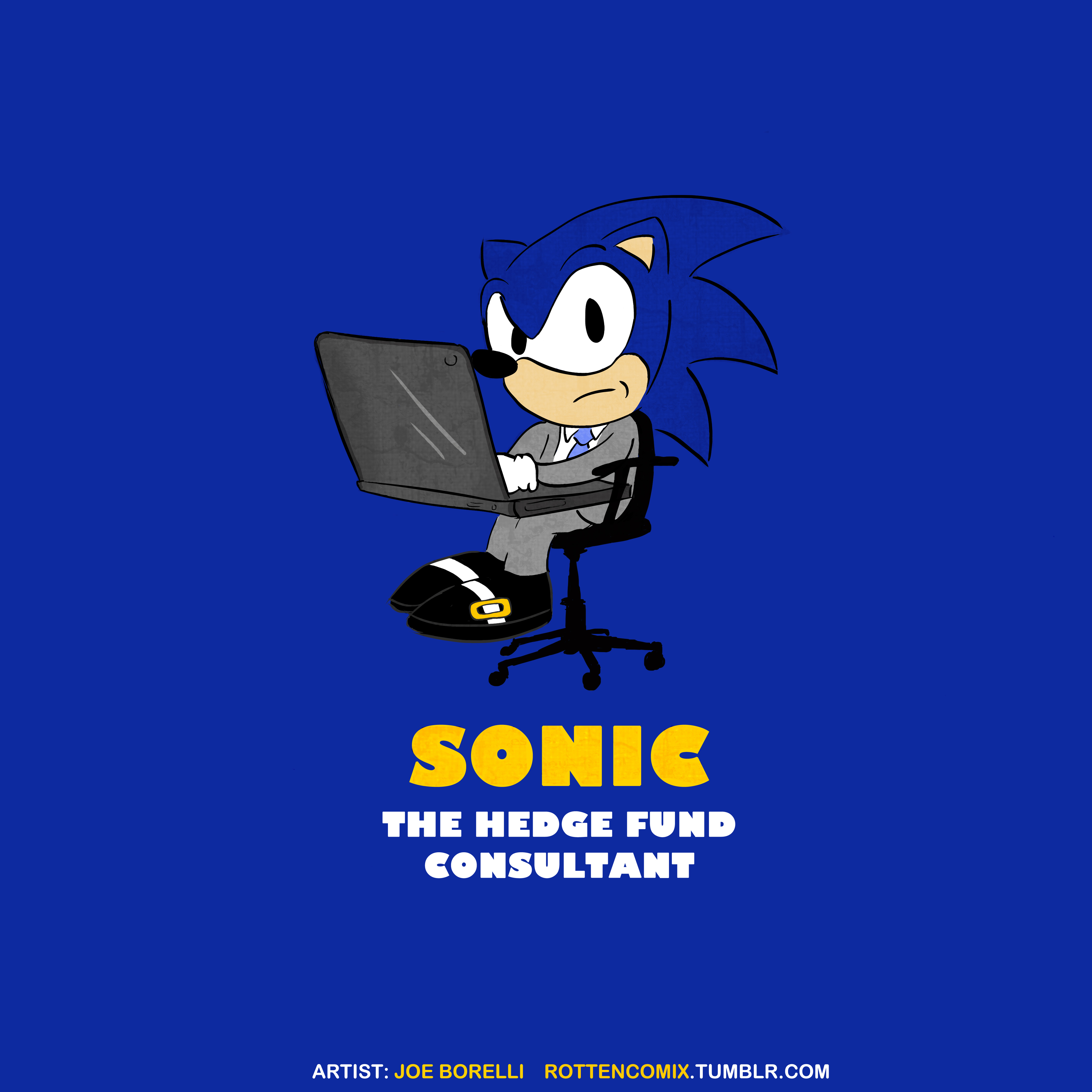 Sonic the HedgeFund Consultant