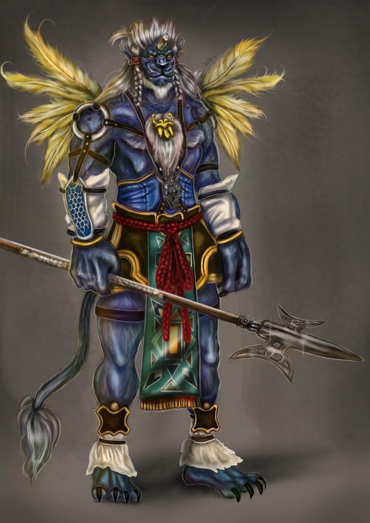 Kimahri Ronso - Final Fantasy