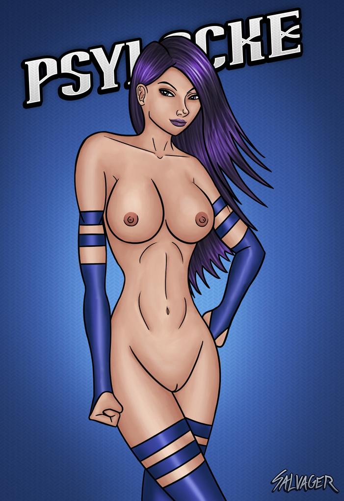 Psylocke Nude