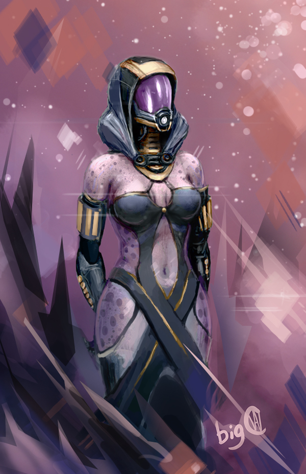 Tali in a Dress