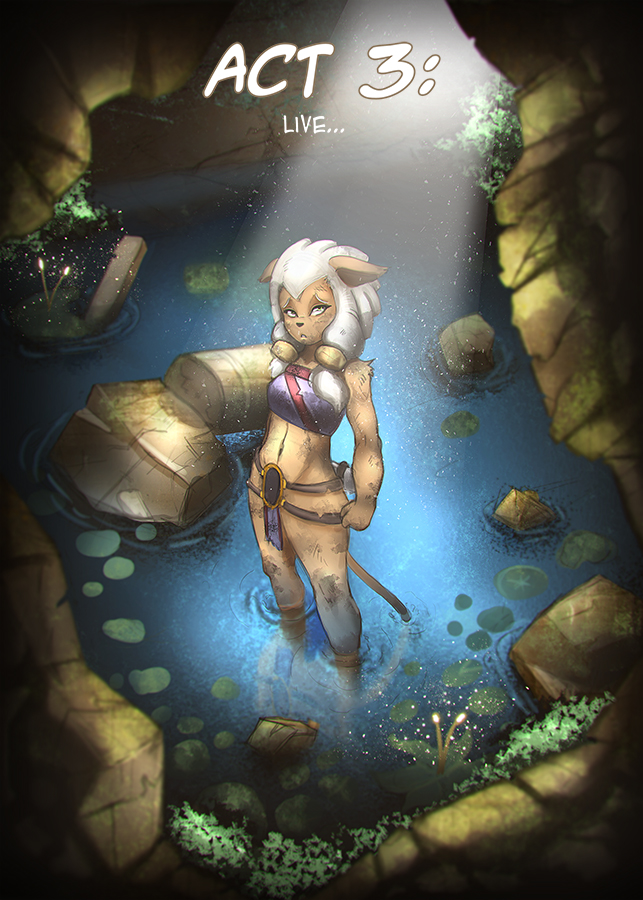 Djandora - Acte 3 Illustration