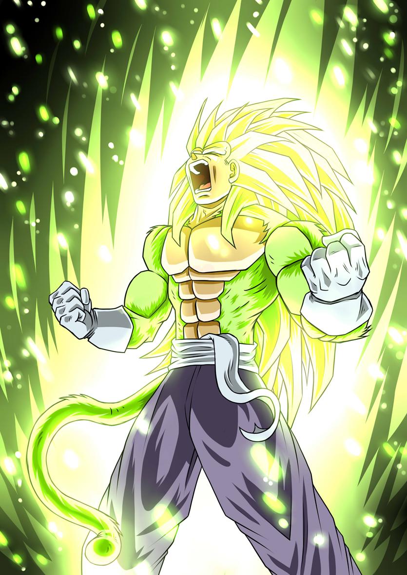 Prince Vegeta SSJ5 green