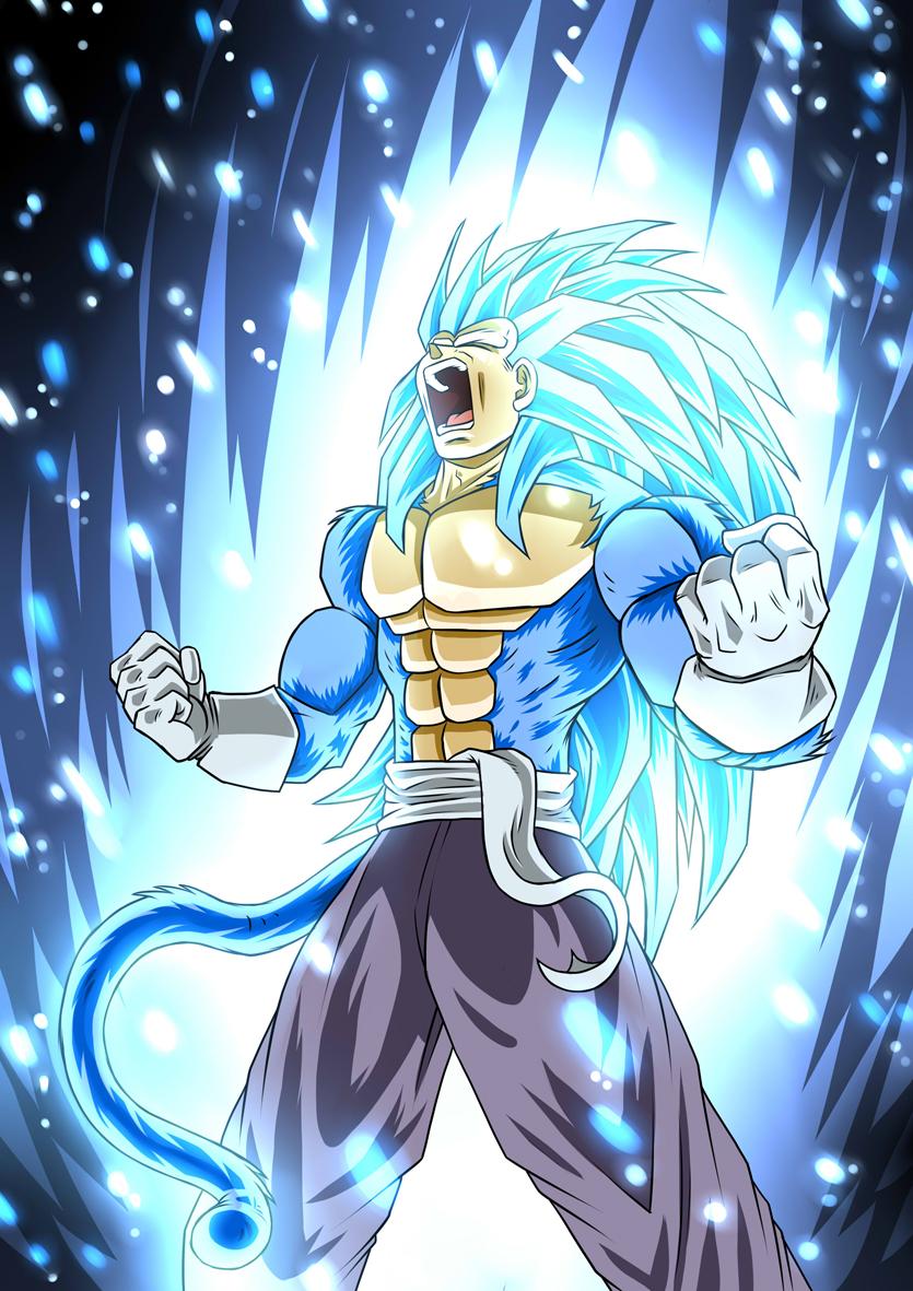 Prince Vegeta SSJ5 blue