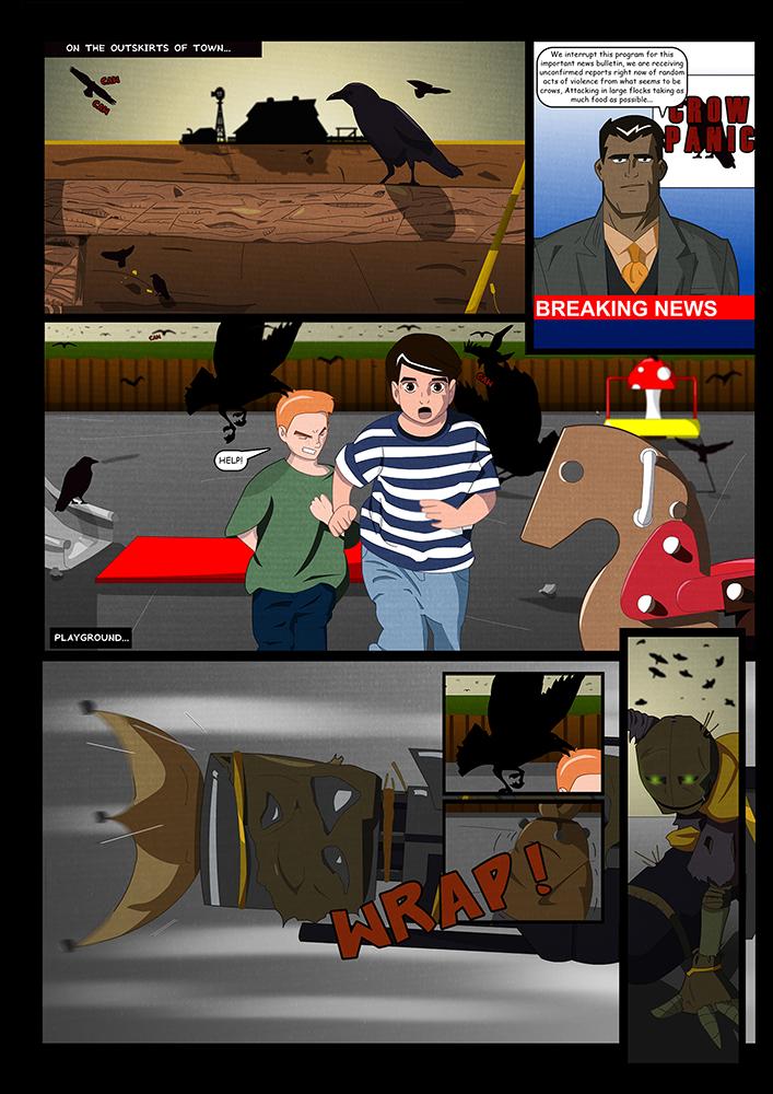 Crow Catcher Storyboard