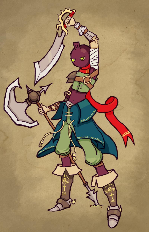 Radish Boy The Warrior
