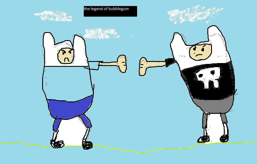 the legend of bubblegum