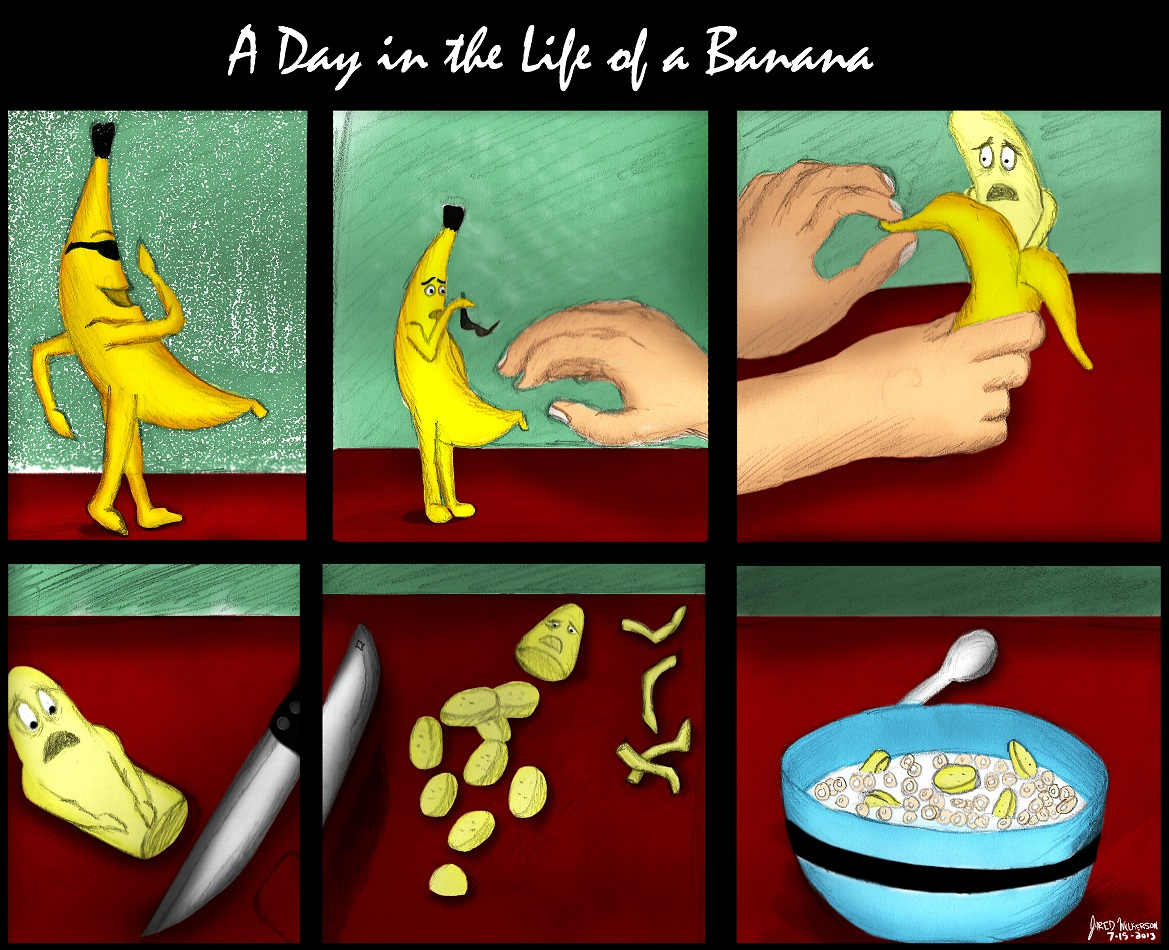 A Day in the Life of a Banana