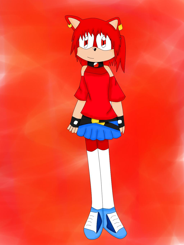 My Sonic OC Shualee