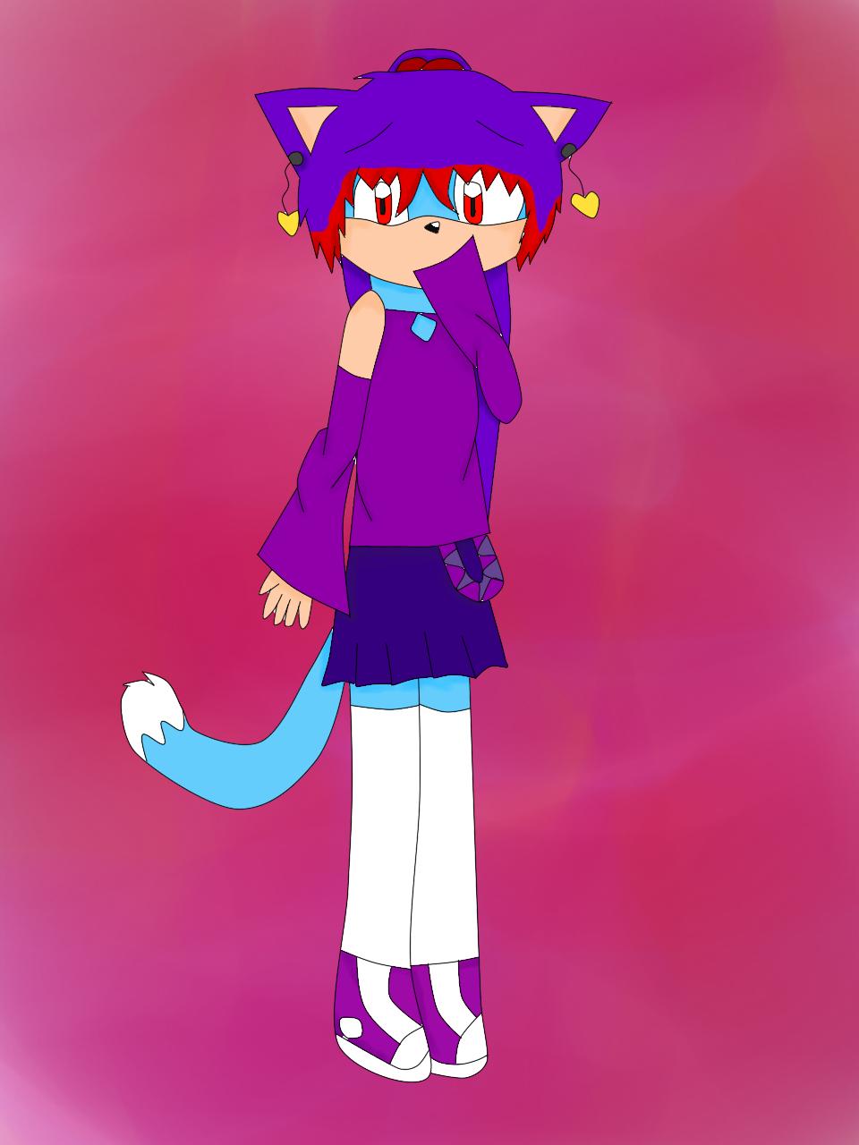 My Sonic OC Hikumi
