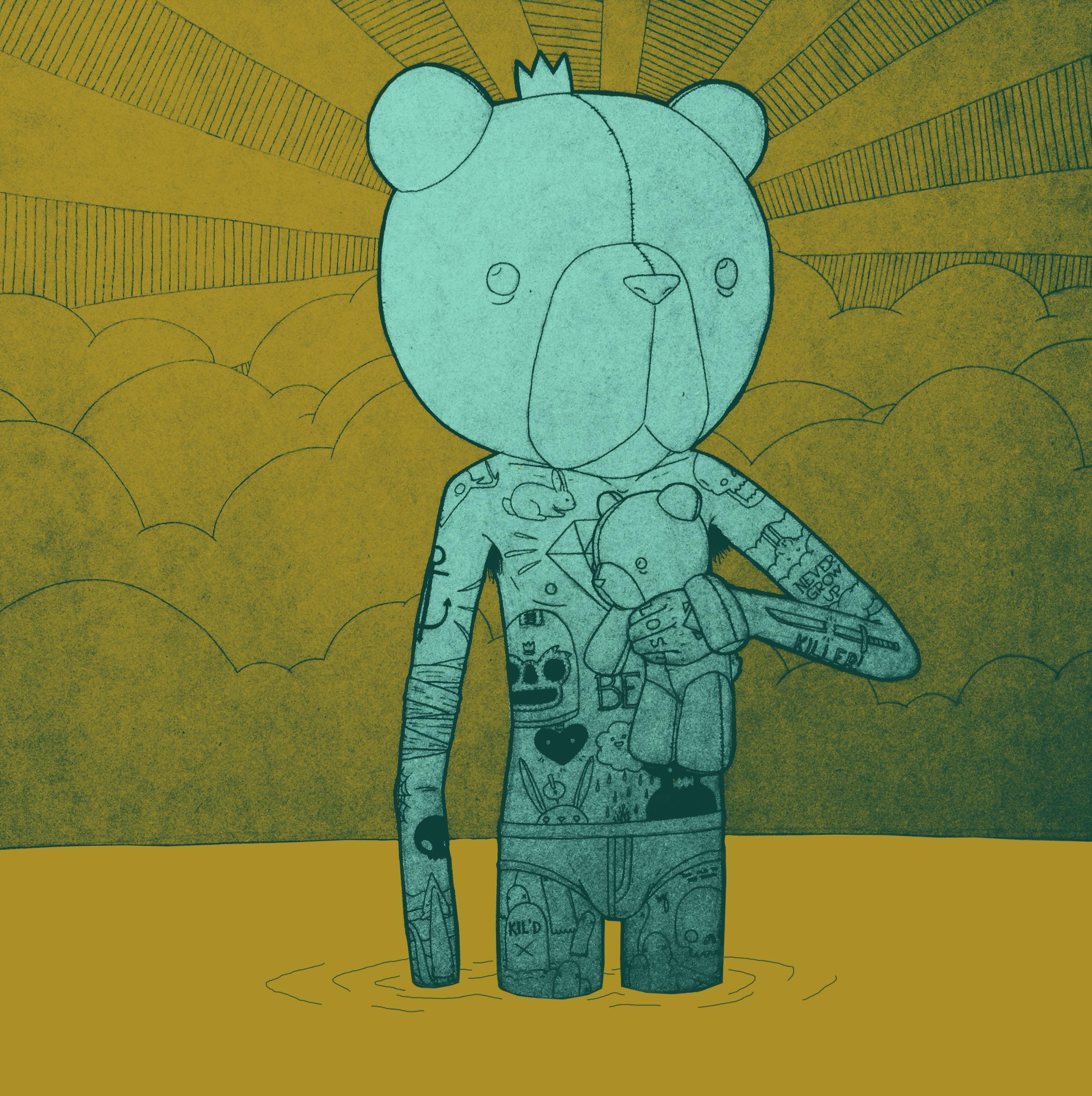 Wading Bear II