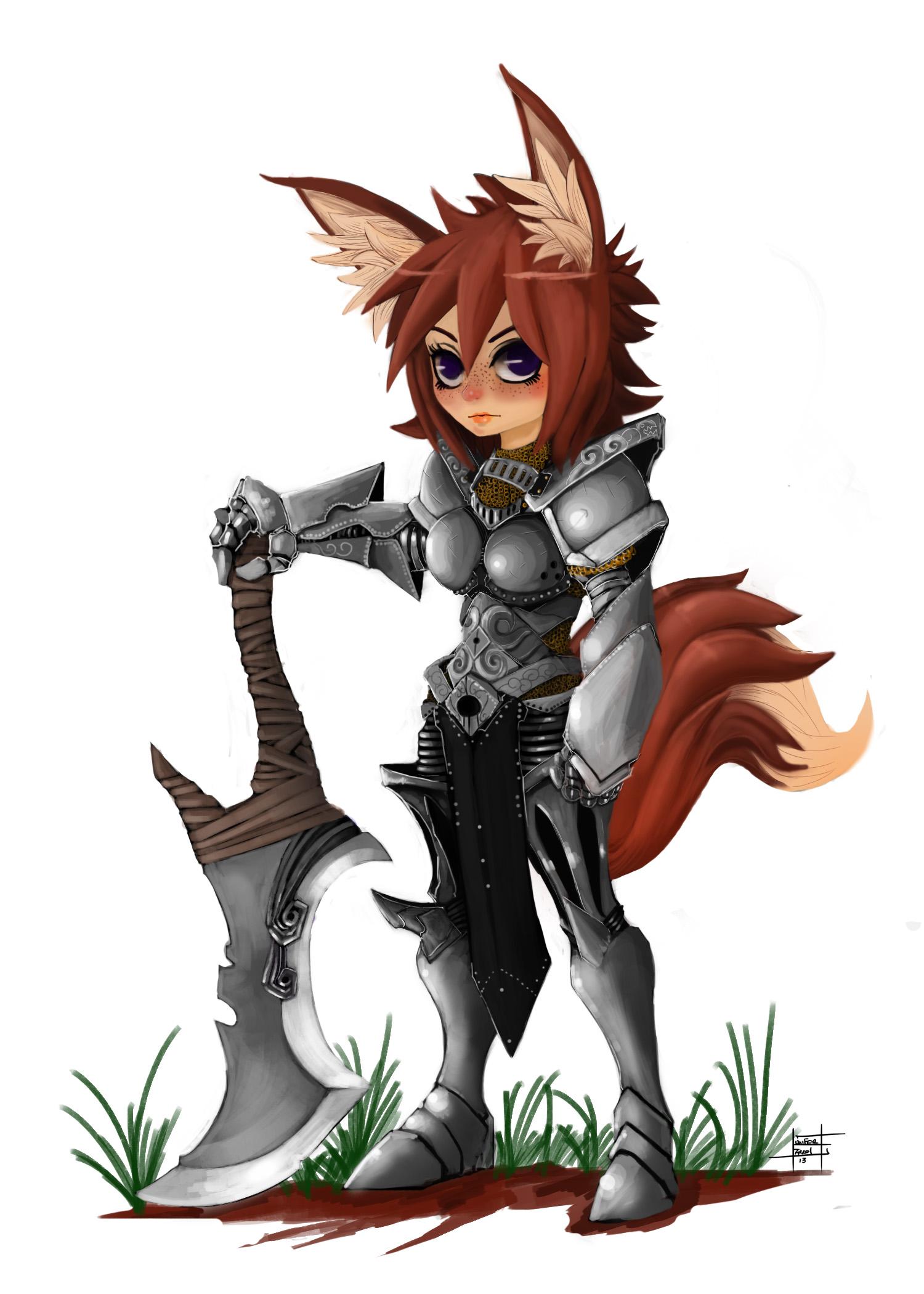 Beastkin Warrior