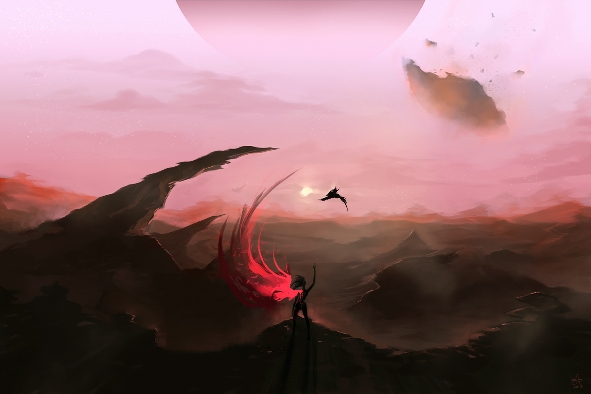 Sun Born of Red Hawk