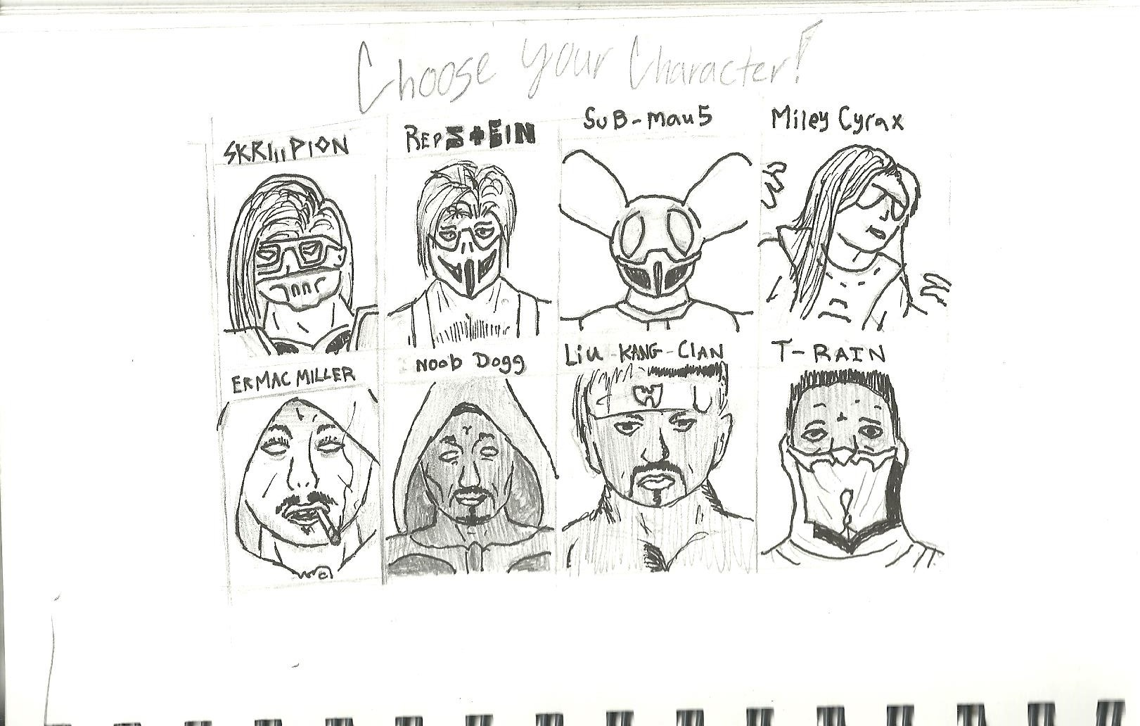Choose Your Character..