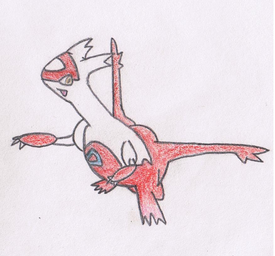Latias (colored)
