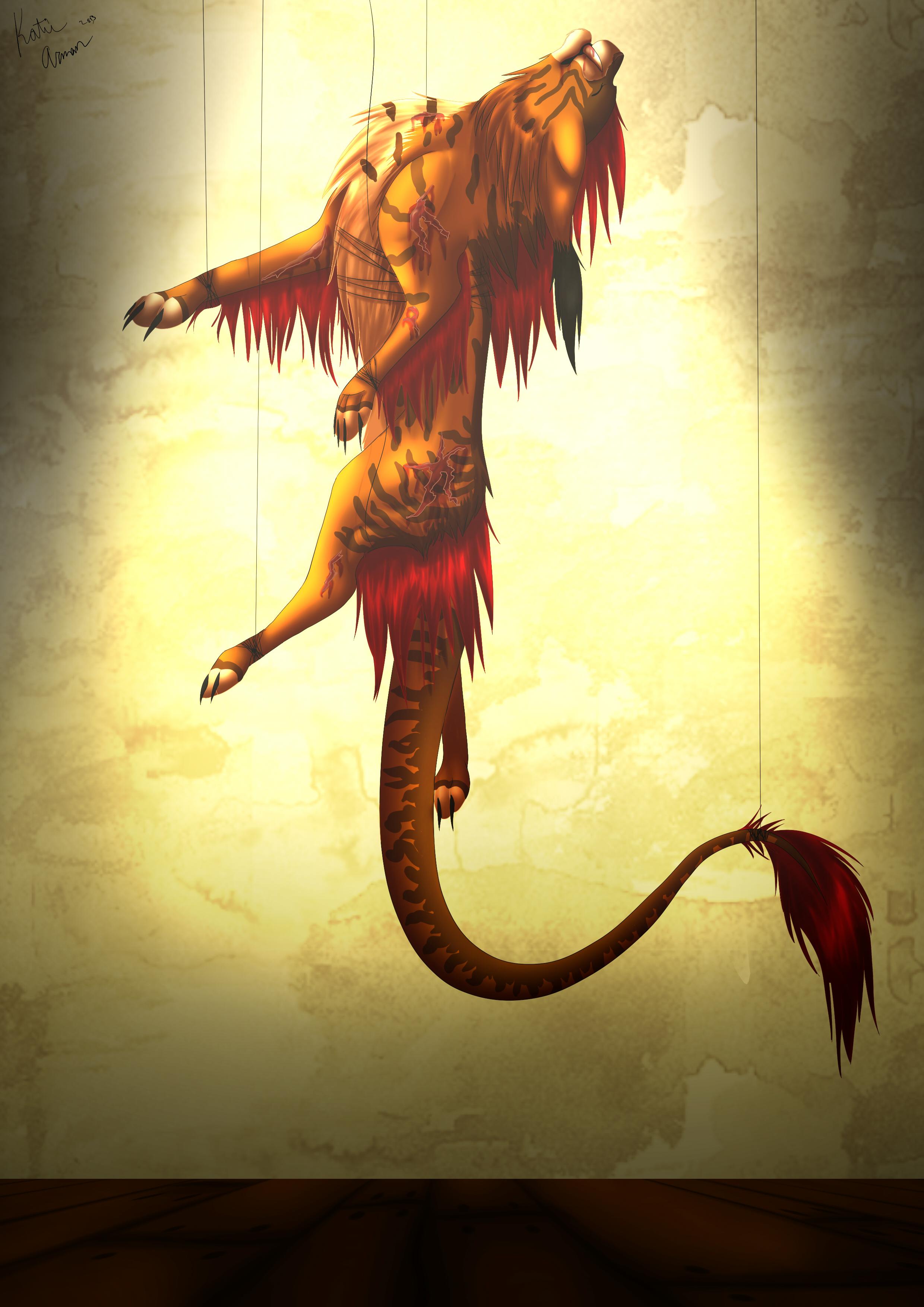 Demonic Puppet Show
