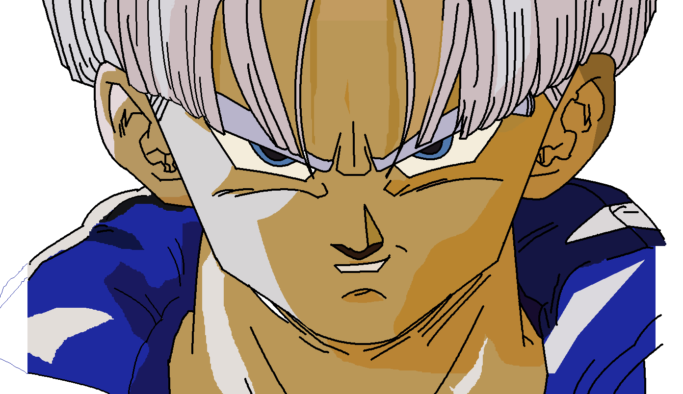 My Original Drawing of Trunks