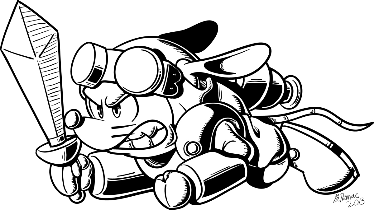 Sparkster the Rocket Knight
