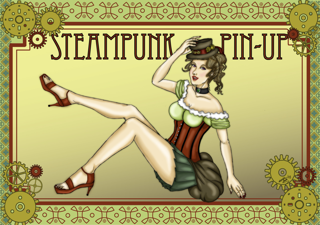 Steampunk Pin-Up