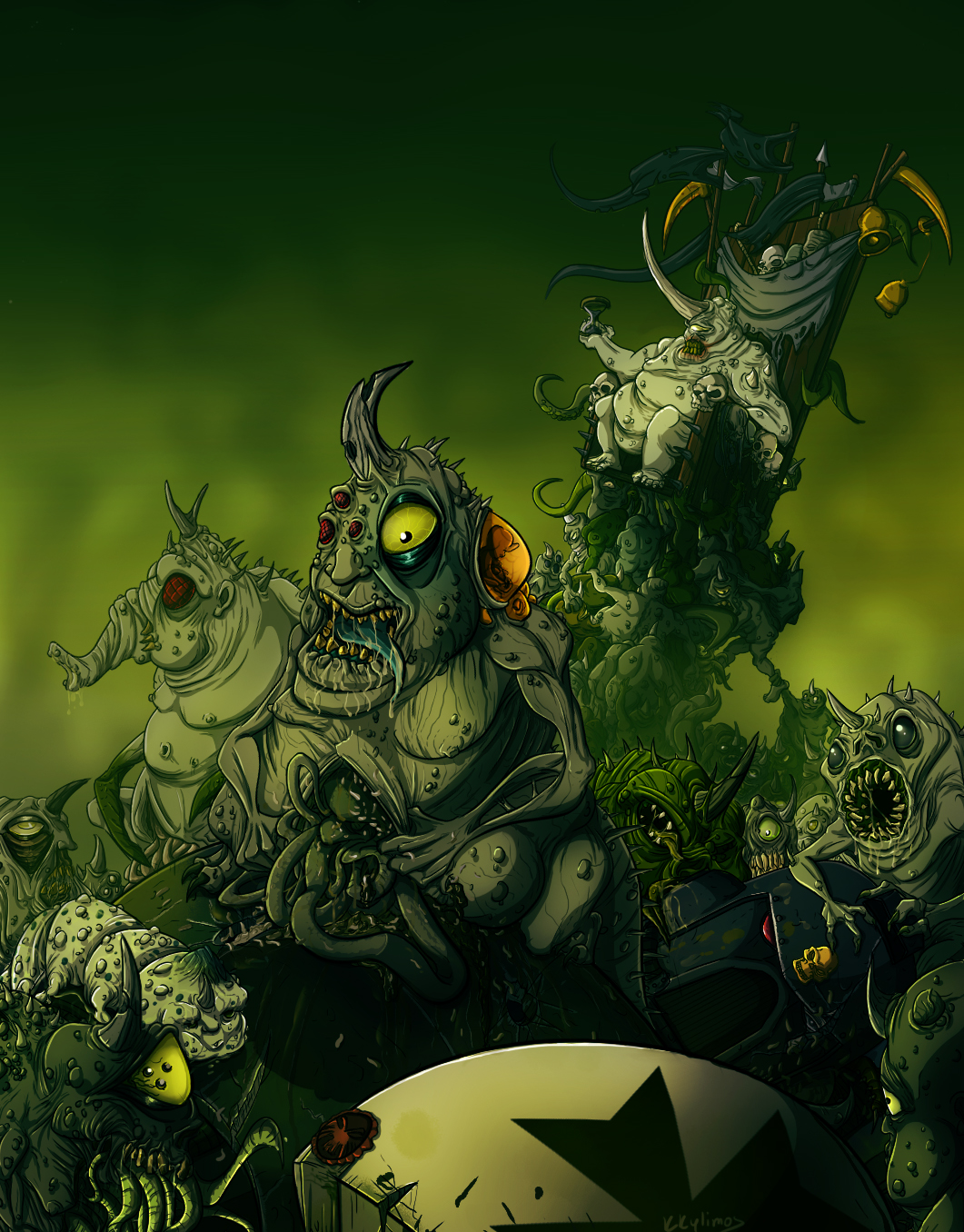 A Feast for Nurglings