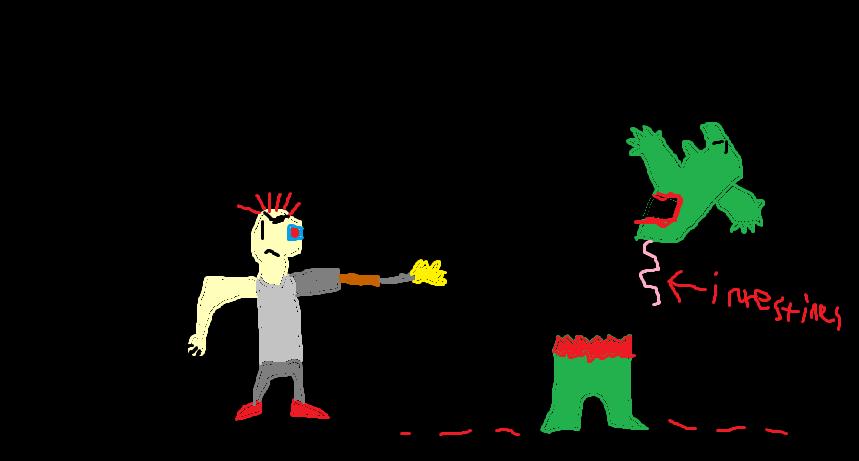 A Cyborg Kills Godzilla