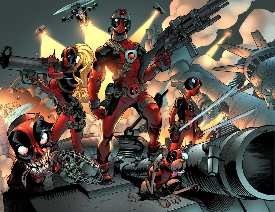 Deadpool Family