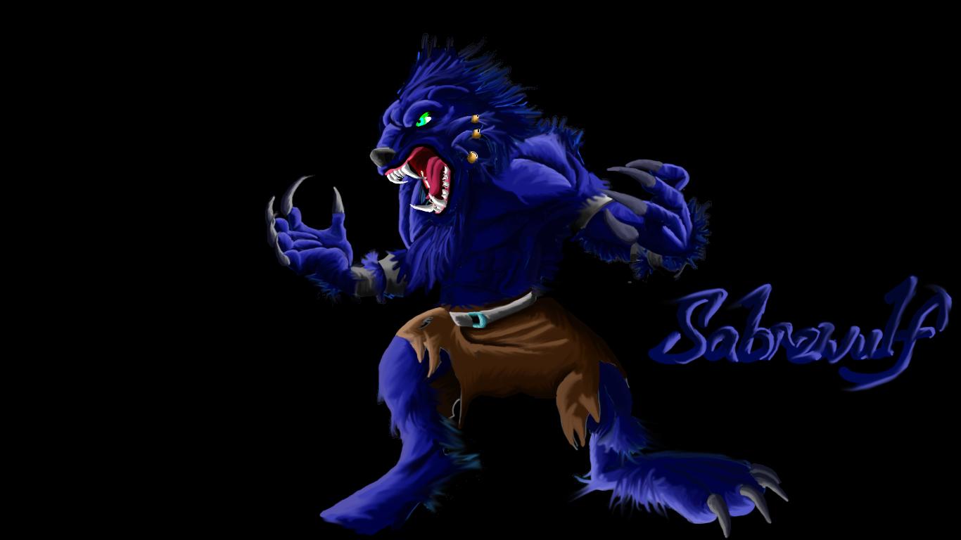 Killer Instinct-Sabrewulf