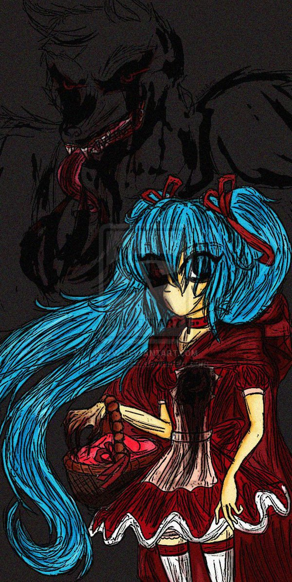 Miku: Red Riding Hood's Wolf