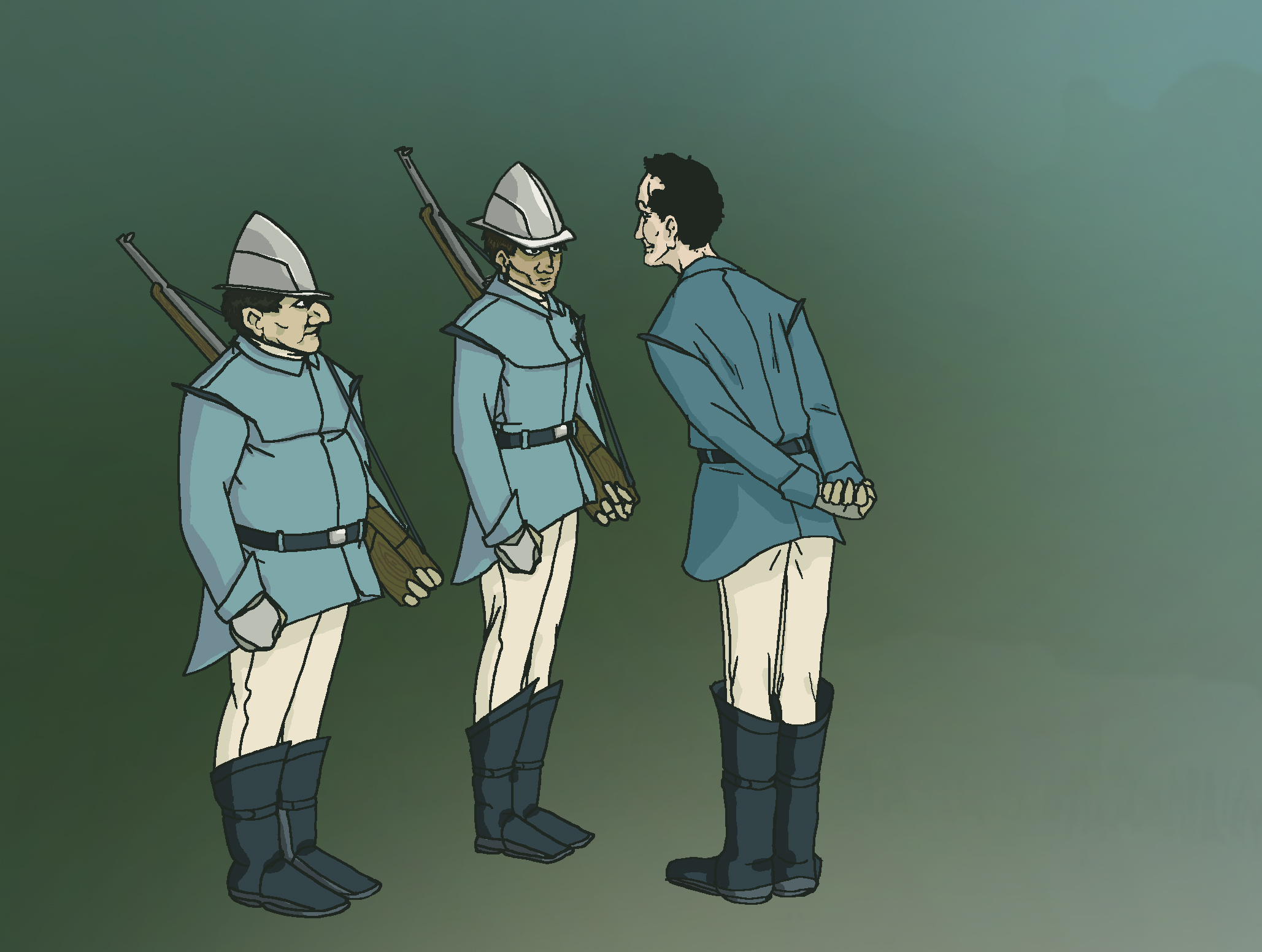 Delta Manga and Constables