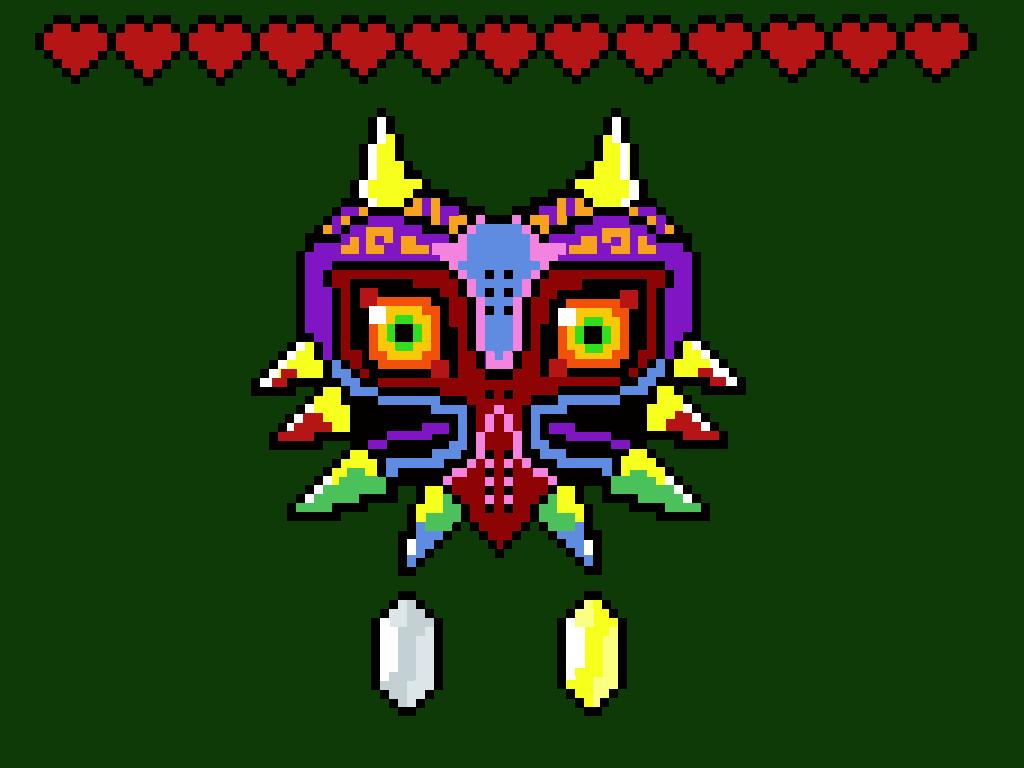Pixel Majora's Mask