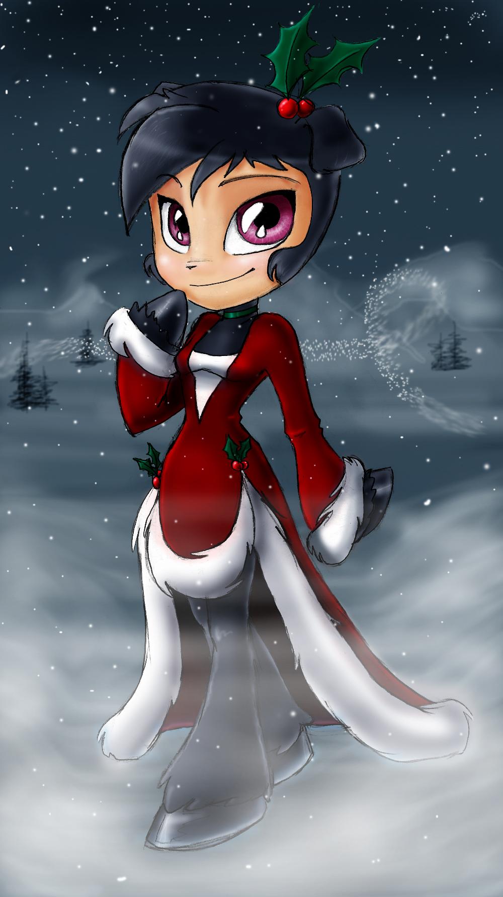 Bo in the Snow