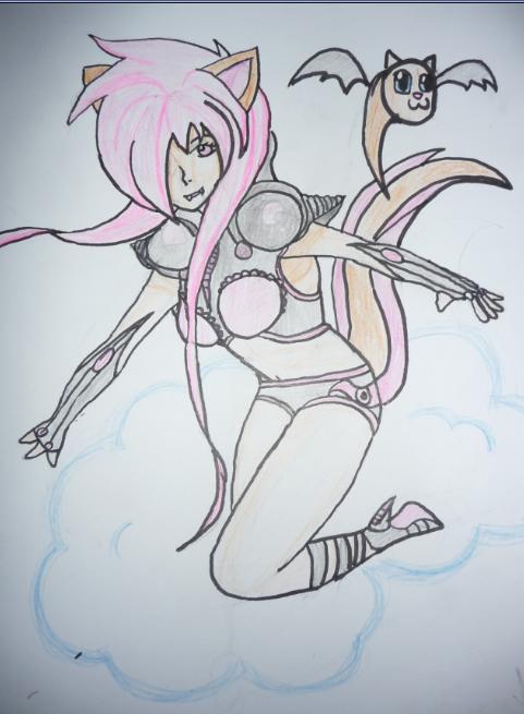 Mythical Cyber Girl