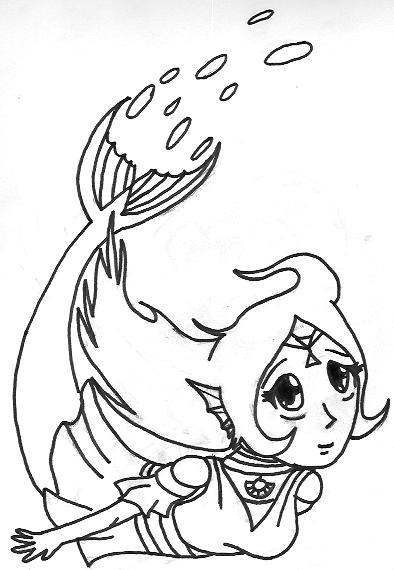Nayru as a Mermaid