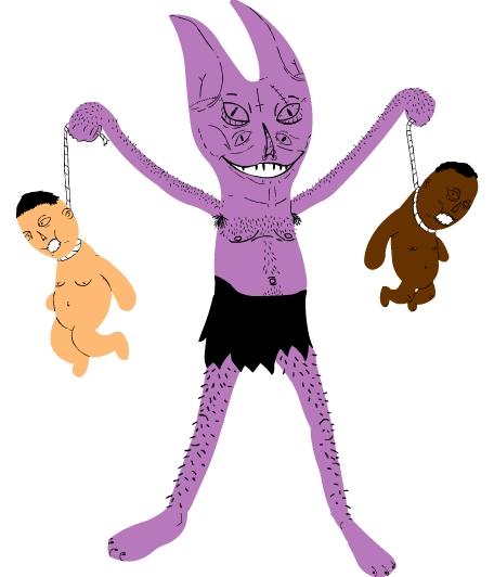 PURPLE BABY HANGER