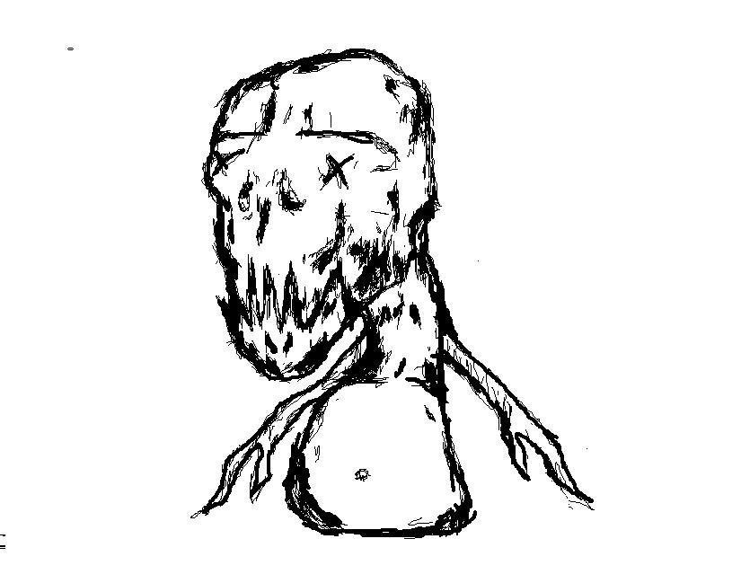 Meat snowman
