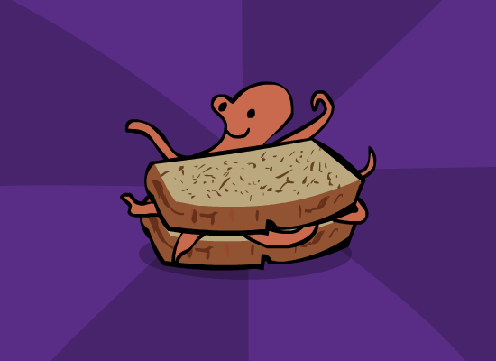 Octopus Sandwich