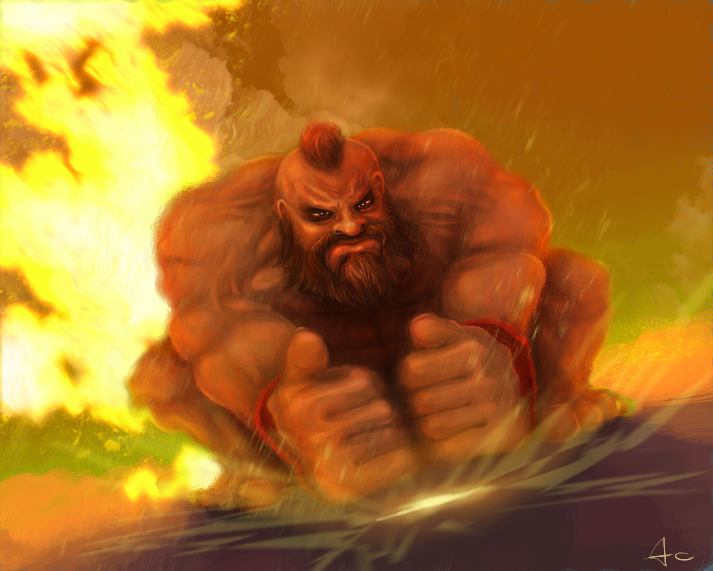 "Zangief - ""Street Fighter"""