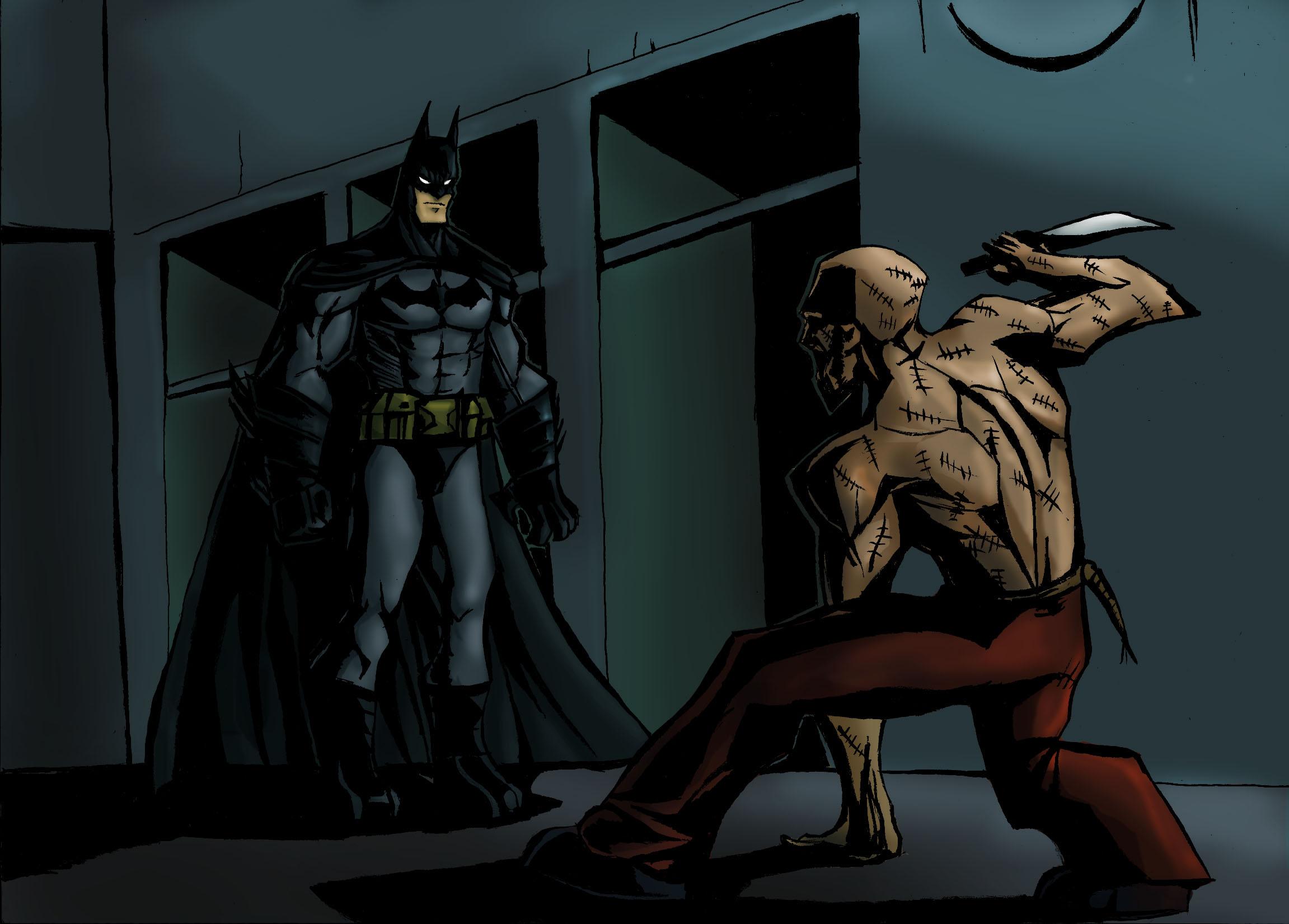 Batman vs Zsasz