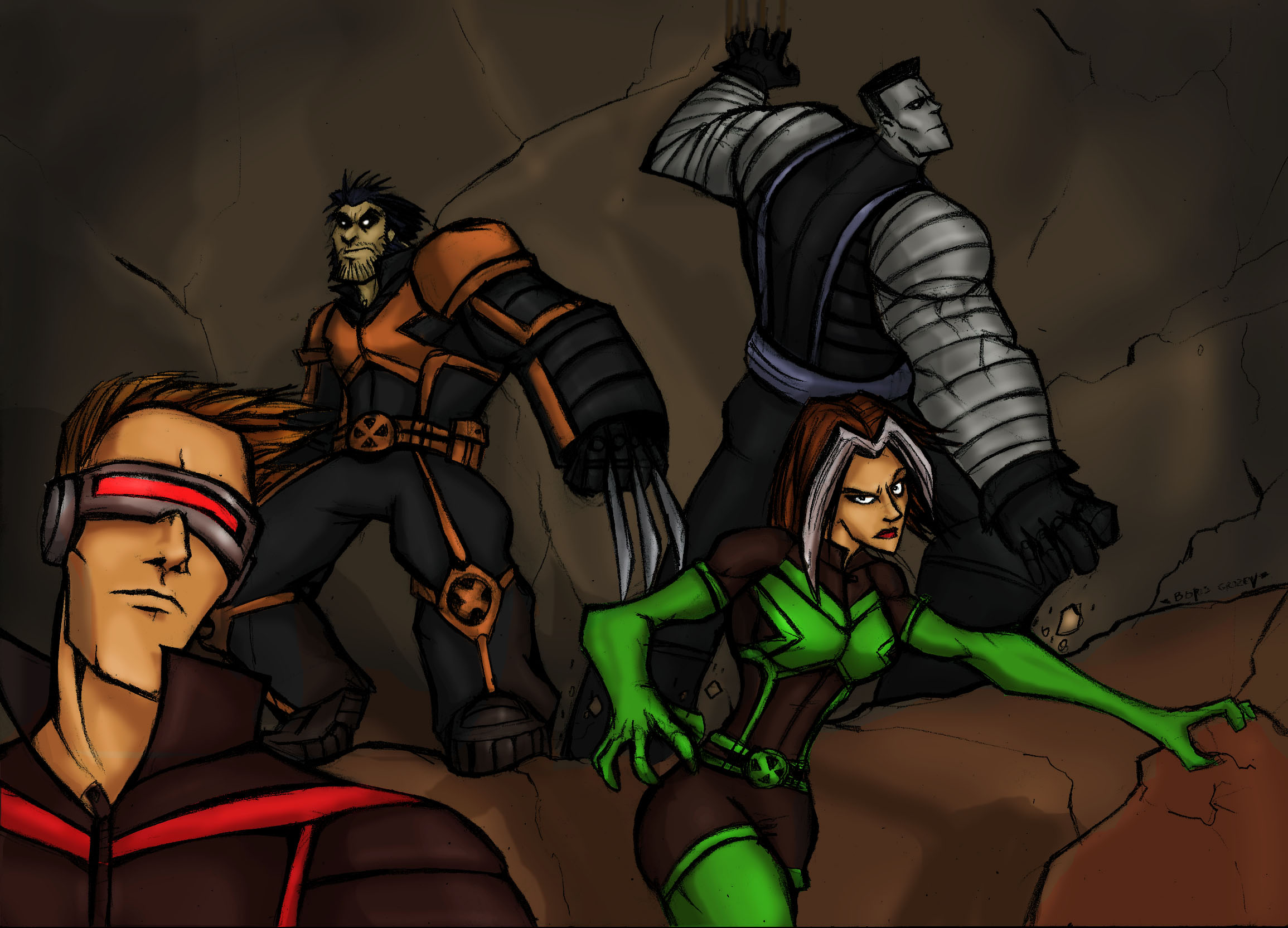 AMAZING X-MEN:Cave ADVENTUR