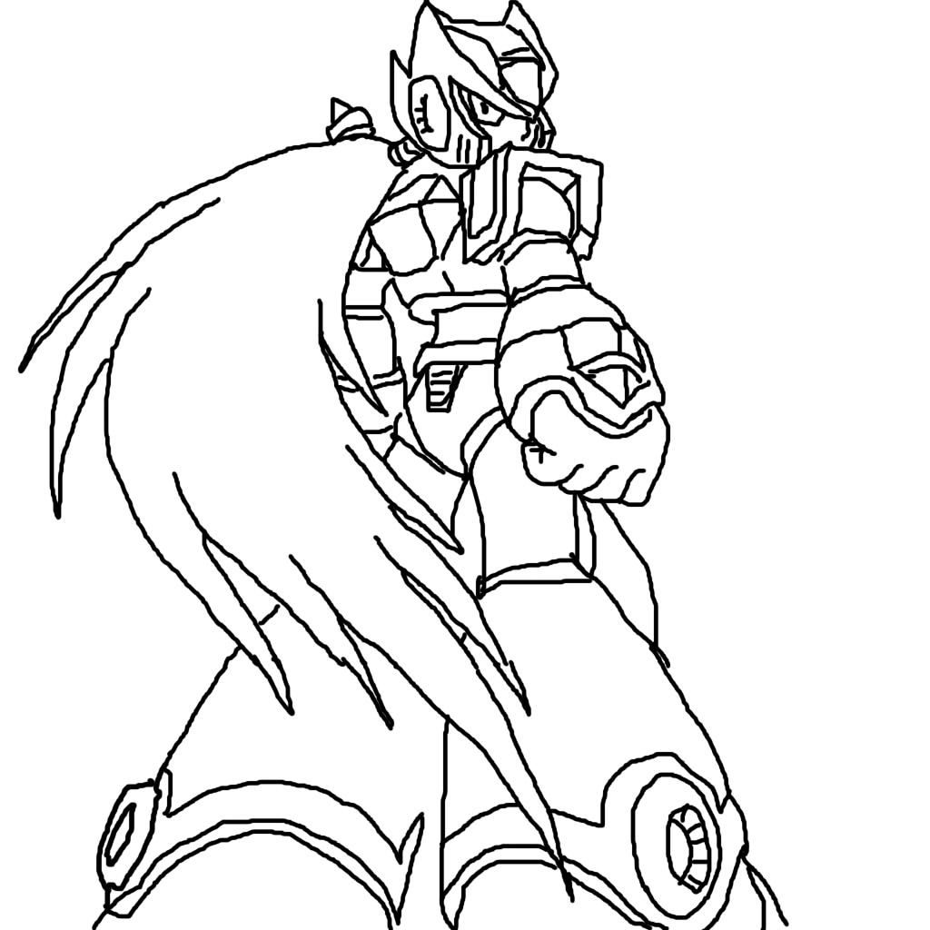 Drawing of zero