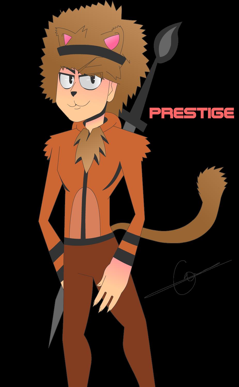 Prestige the cat man