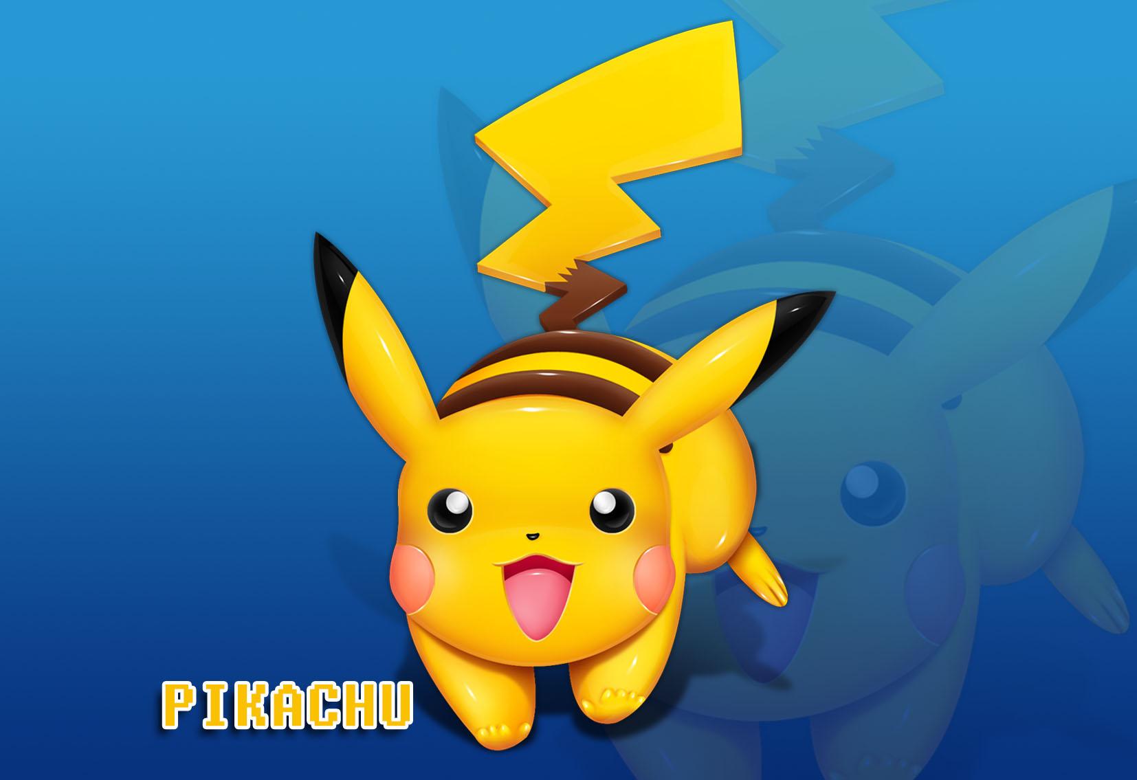 Pikachu 3D render