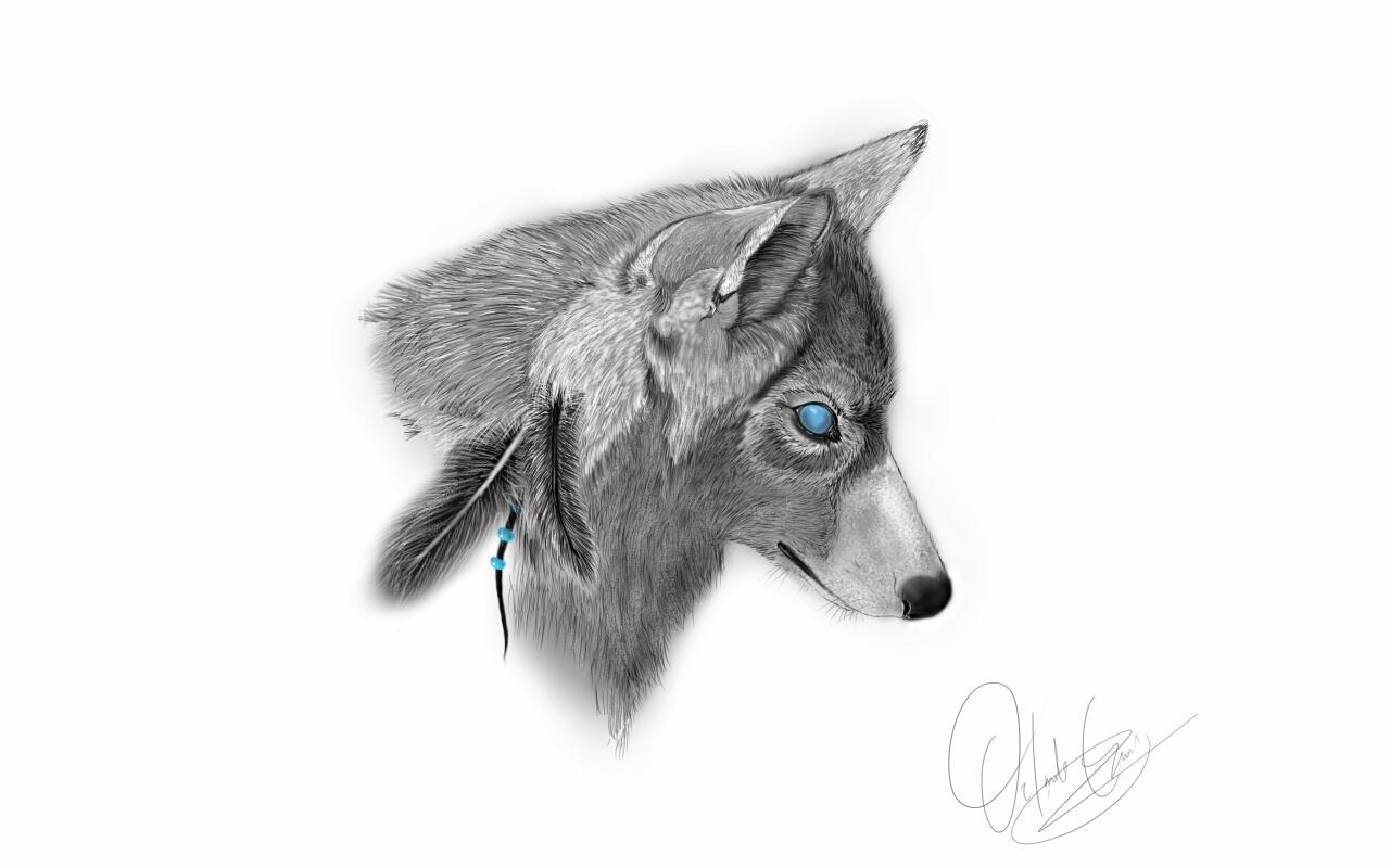 spirit wolf.