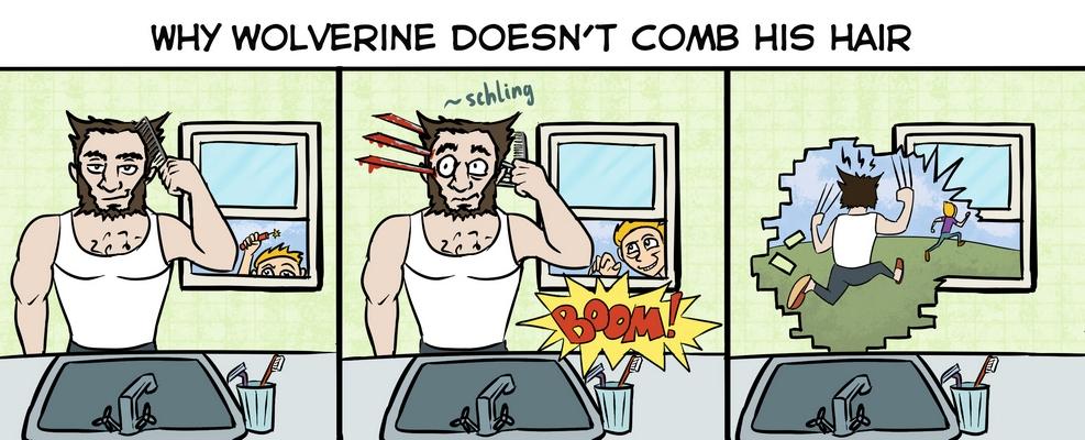 Wolverine prank