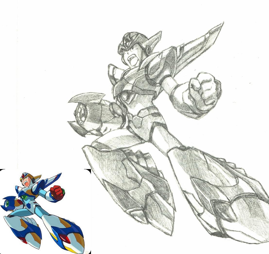 Mega Man X Sketch