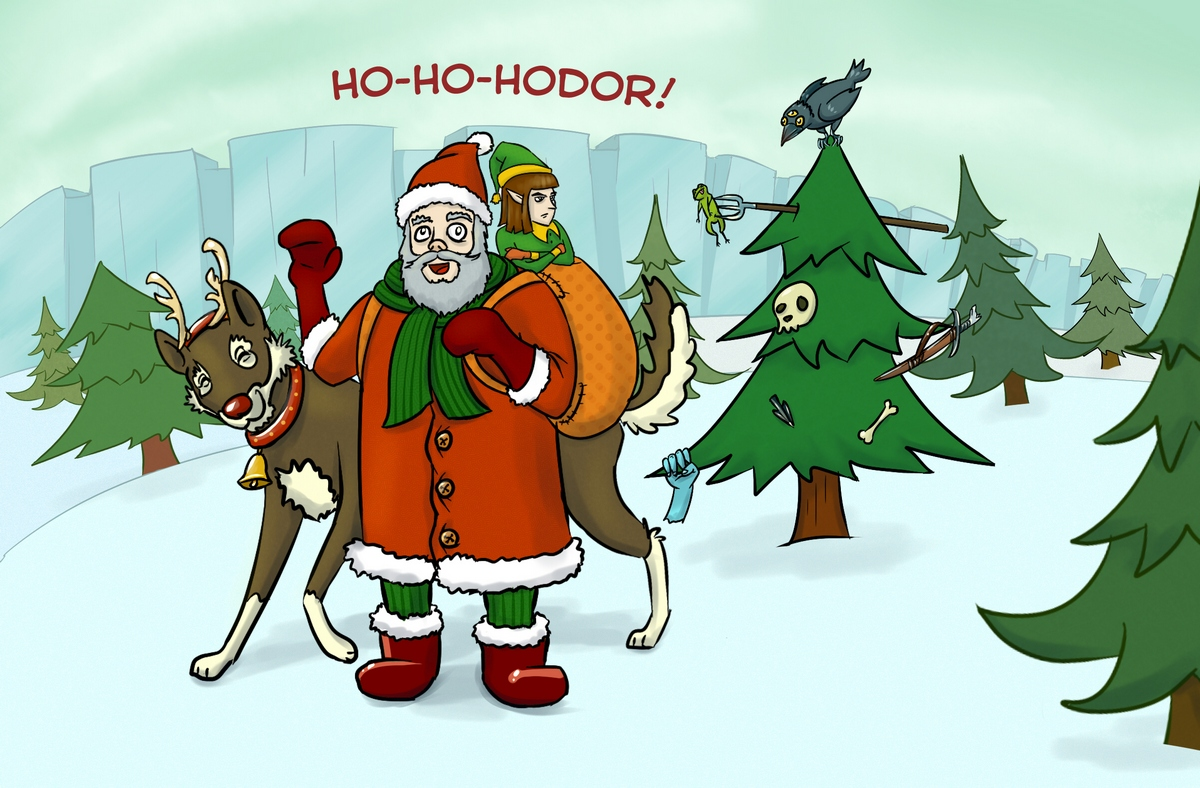 Ho-Ho-Hodor!