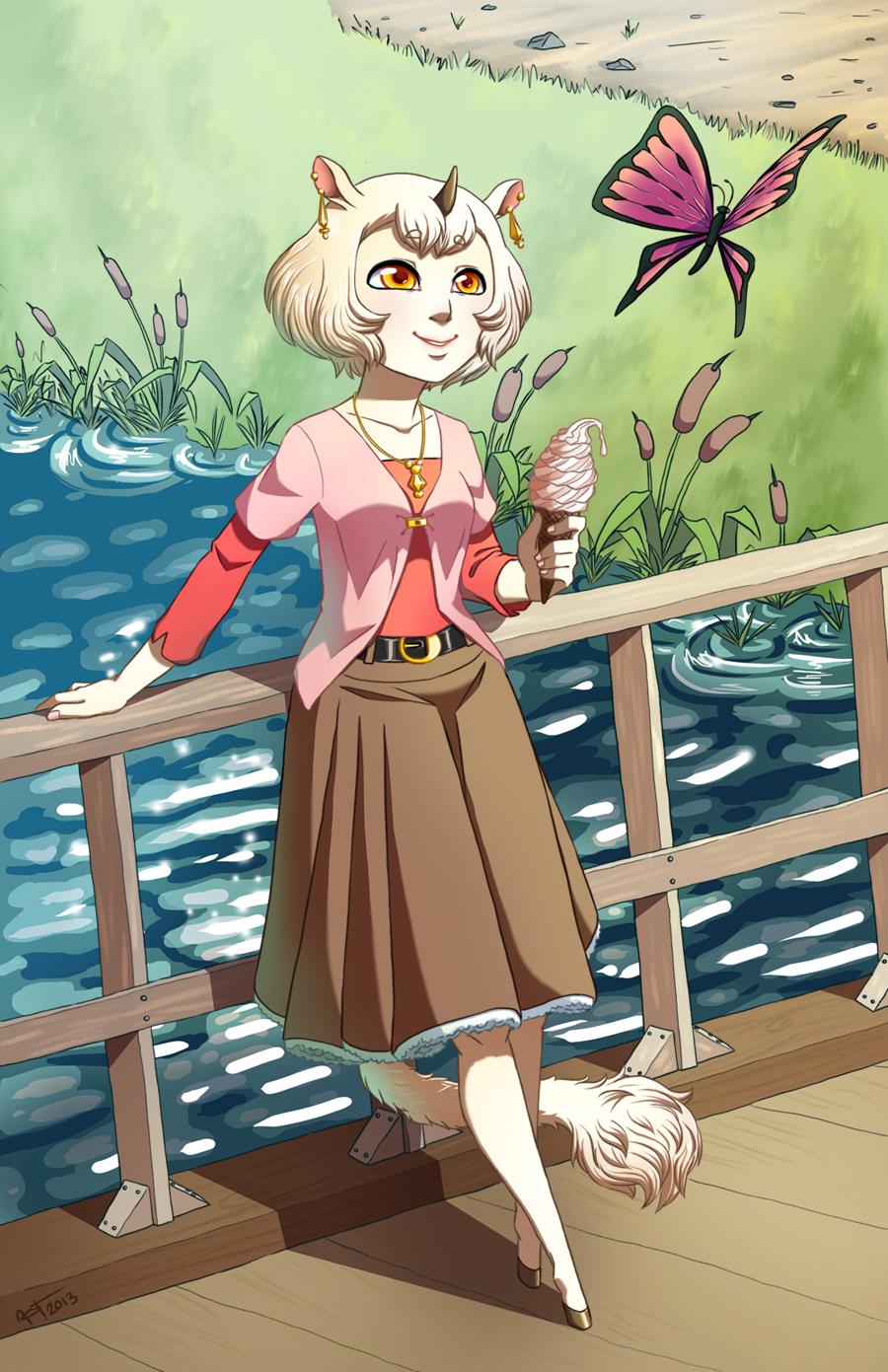 Vanilla in the park