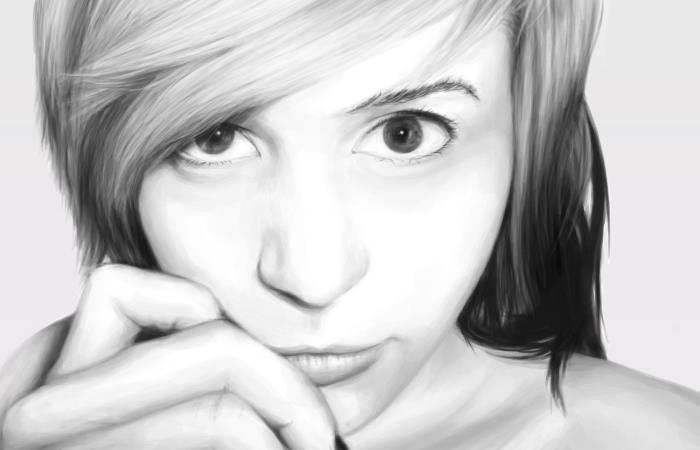 Xandra Realism Portrait