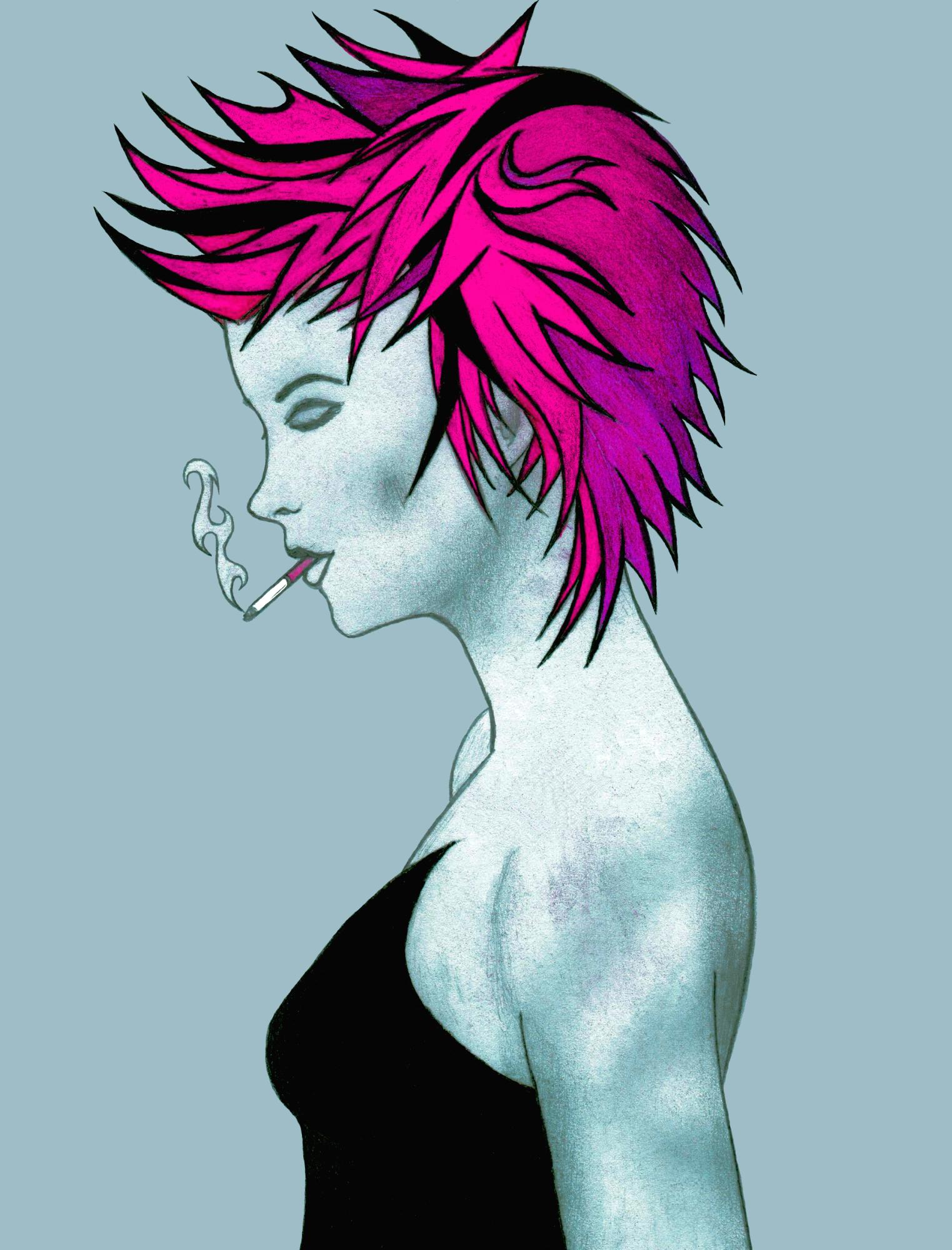 Cigarette Girl #11